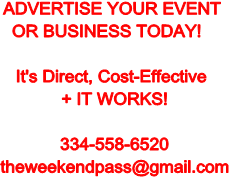 ADVERTISE YOUR EVENT OR